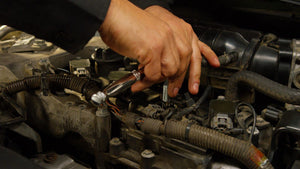 Replace mercedes spark plug