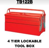 Toolbox 4 Tier Lockable - Cape Town Auto Spares