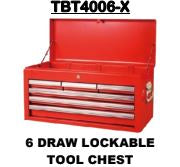 Toolchest 6 Draw Lockable - Cape Town Auto Spares