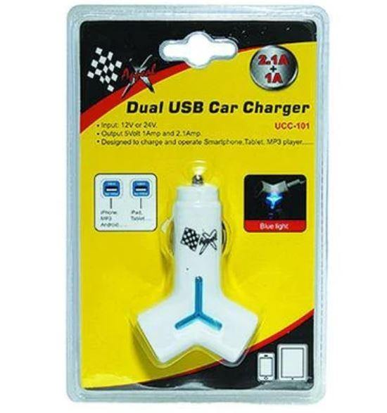 USB Car Charger - Dual