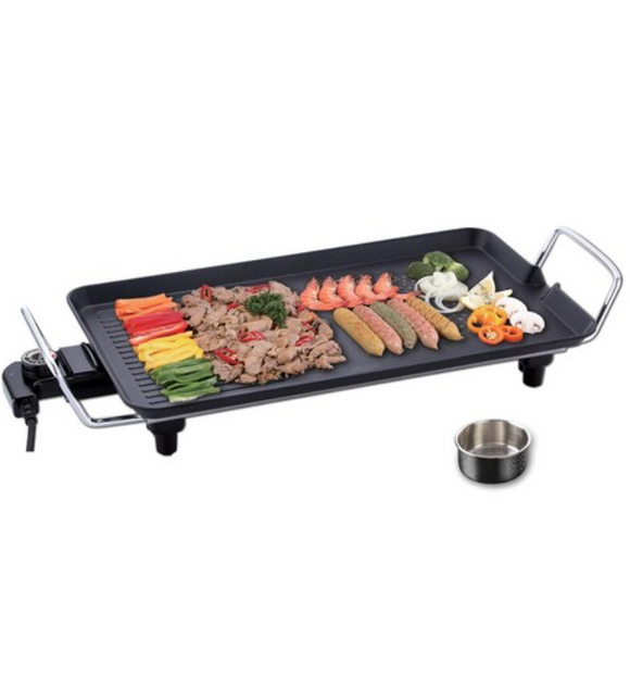 [KITCHEN FLOWER] Home Party Grill Pan L