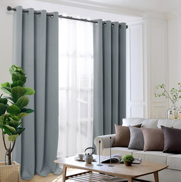 [COMET] Insulated Eyelet Balckout Curtains