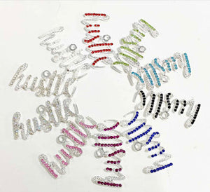 Open image in slideshow, Hustle Rhinestone Charms