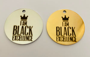 Open image in slideshow, I Am Black Excellence Charm