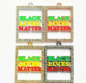 Open image in slideshow, Black Lives Matter Charm