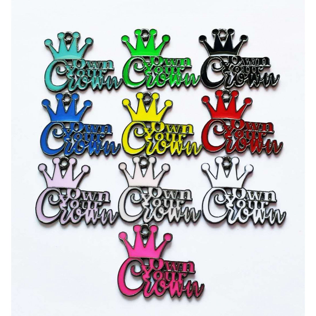 Own your Crown Charm