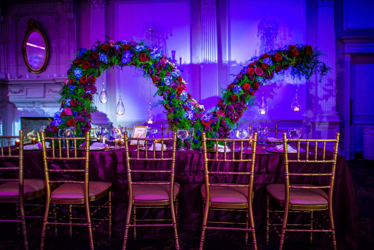 Love in Jewel Tones Event Floral Design