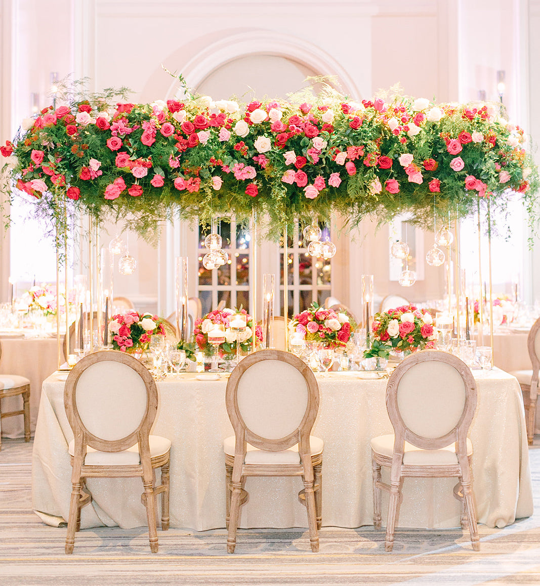 Romance in Bloom Event Floral Design