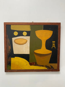 Abstract Still Life by Uta Von Bern