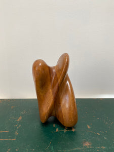 Biomorphic Wood Sculpture
