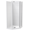 Sierra Angled Pivot Door Tiled Wall Shower