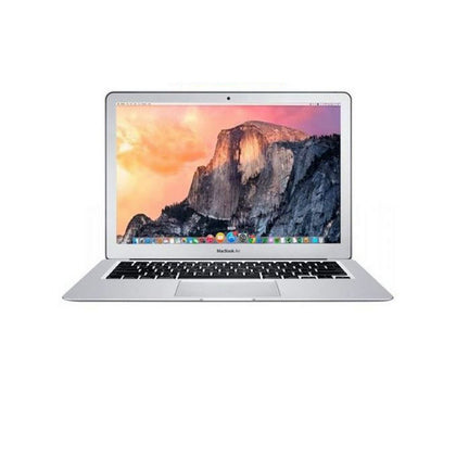Apple MacBook Air 13 Laptop 13.3'' HD+ , Intel Core i7 2.2GHz up to 3.2GHz 3MB shared L3 cache, 8GB RAM, Intel HD6000 GPU, 128GB SSD, Touch ID, Model:Z0UU3LL/A, MacOS, English Keyboard, Silver