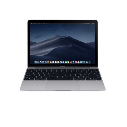 Apple MacBook 12 Laptop 12'' Retina display , Intel Core M m3 1.2GHz Chache 4MB, 8GB RAM, Intel HD515 GPU, 256GB SSD, Model:MNYF2E/A, MacOS, English Keyboard, Space Gray