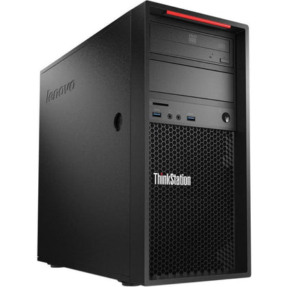 Used Lenovo ThinkStation P300 Tower Desktop, Intel Core i5 i5-4570, 4GB RAM, 500GB HDD