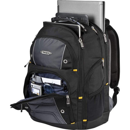 Targus Drifter II Laptop Carrying Backpack 17-inch – Black/Gray