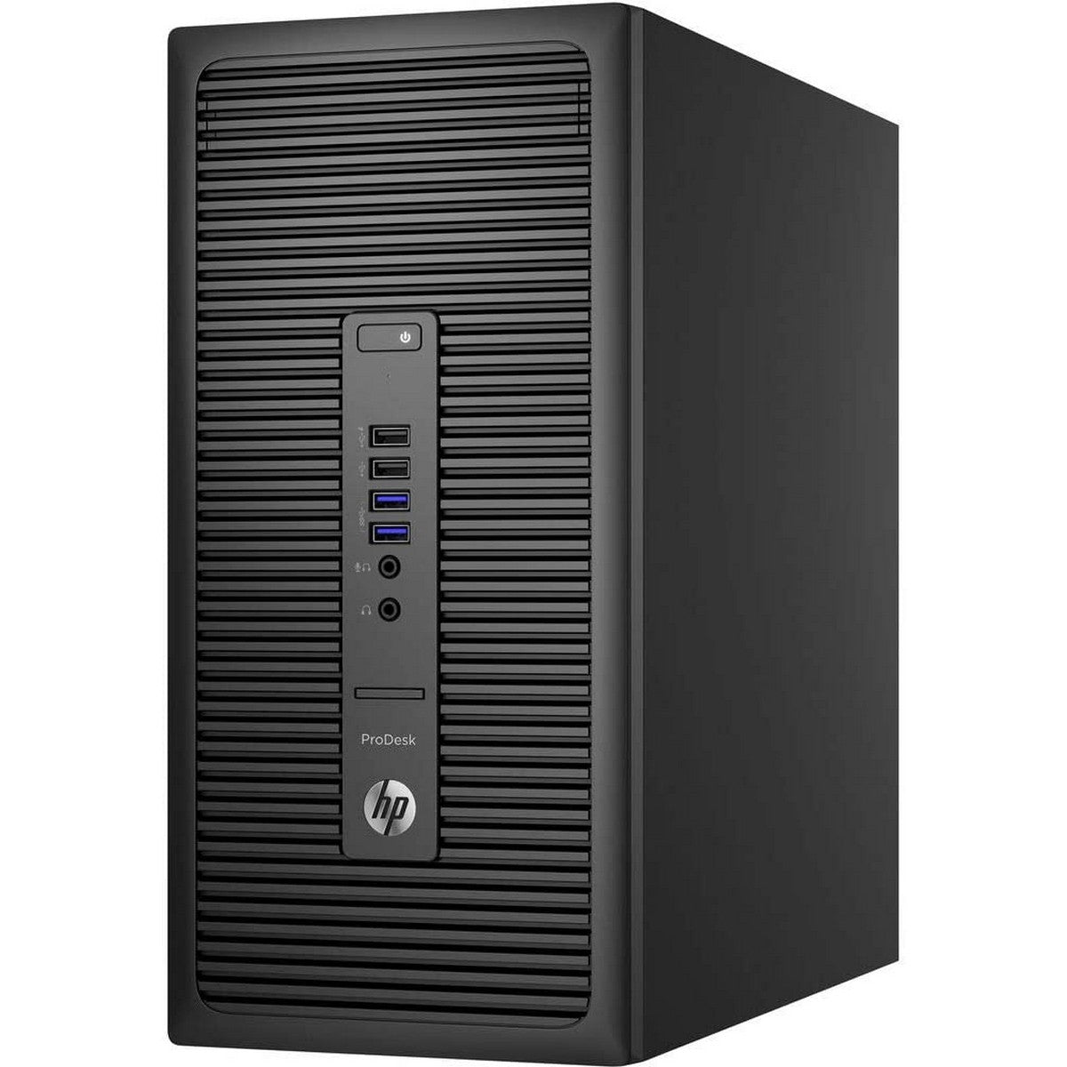 Used HP ProDesk 600G2 Tower Desktop, Intel Core i7 i7-6700, 4GB RAM, 500GB HDD