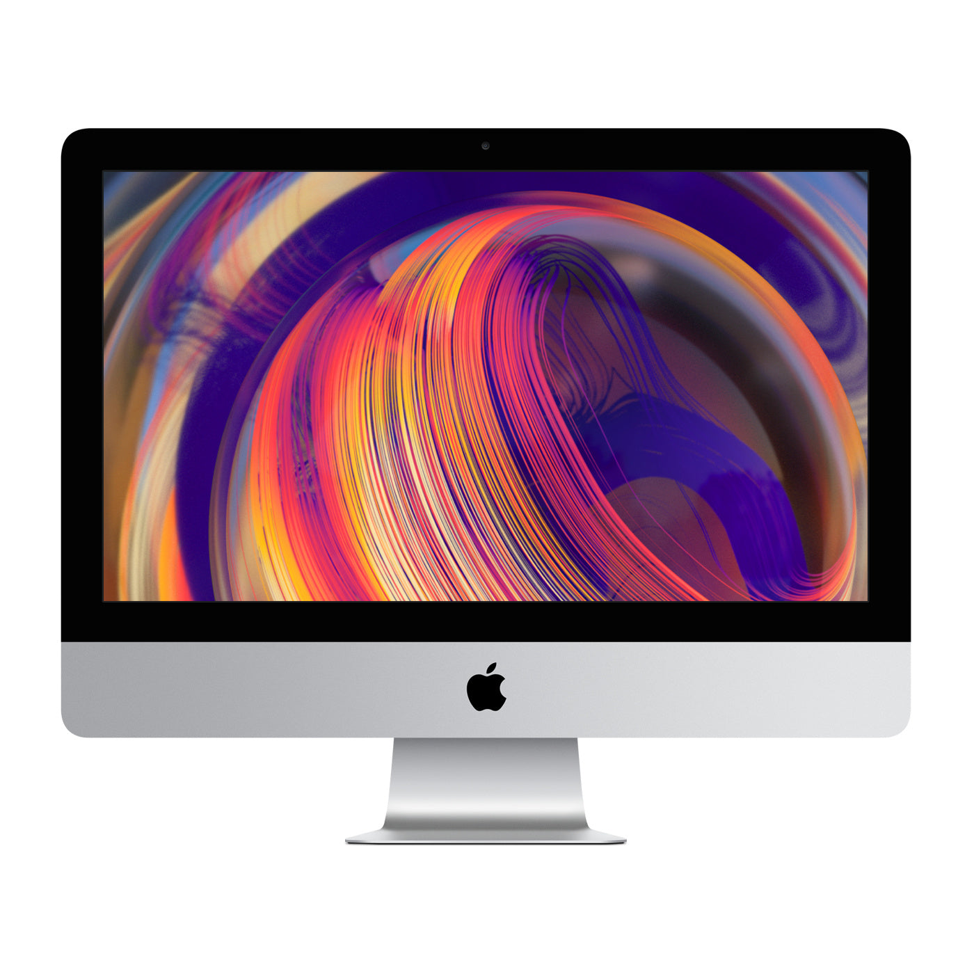 Used (Like New) Apple IMac (2019) 21.5'' Retina 4K Display, Intel Core I5-8500 6-Cores CPU, 8GB RAM, Radeon Pro 560X 4GB GPU, 1TB Fusion Drive, with Apple Mouse & keyboard and all Accessories