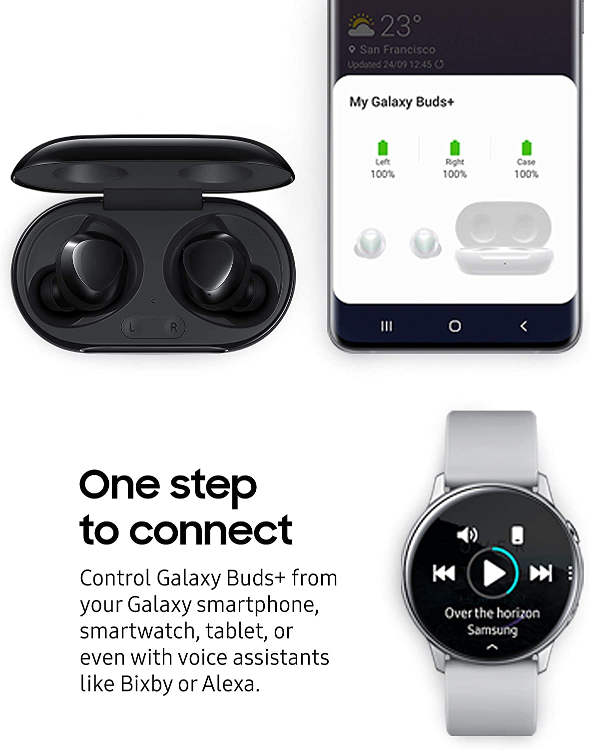 Samsung Galaxy Buds PLUS Black