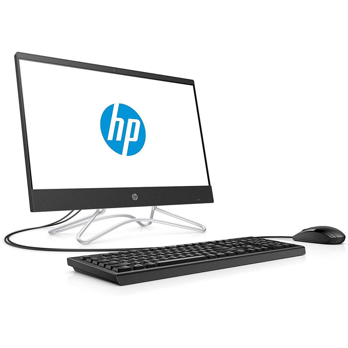HP 200 G3 All-in-One Desktop 21.5'' FHD , Intel Core i3 i3-8130 2.20GHz 4M Cache, up to 3.40GHz, 4GB RAM, Intel UHD 620 GPU, 1TB HDD, Windows 10 Pro, Black