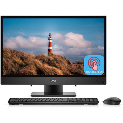 Dell Inspiron 24-3480 All-in-One Desktop 23.8'' FHD , Intel Core i7 i7-8565U 1.80GHz Upto 4.60 GHz 8MCache, 16GB RAM, Intel HD620 GPU, 1TB HDD+ 256GB SSD, Touchscreen, Windows 10, Black