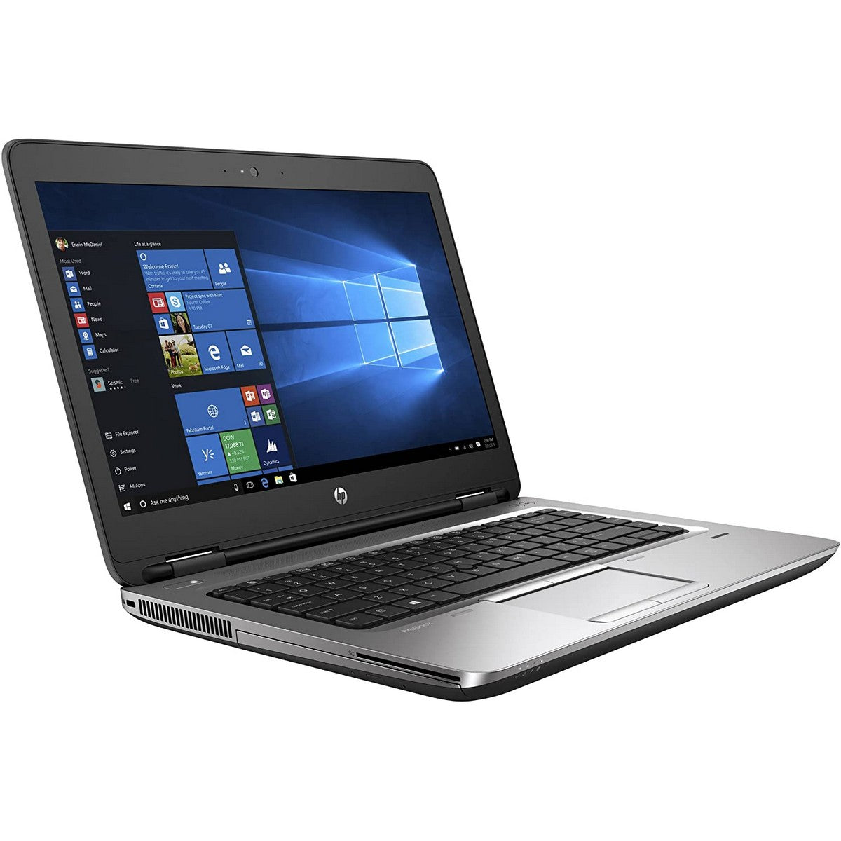 Used HP ProBook 640G2 Laptop 14'' HD+, Intel Core i5 i5-6300U, 8GB RAM, Intel GPU, 500GB HDD, English Keyboard