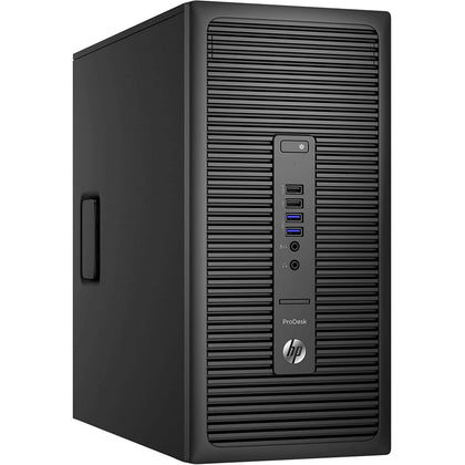 Used HP ProDesk 600G2 Tower Desktop, Intel Core i5 i5-6500, 8GB RAM, 500GB HDD