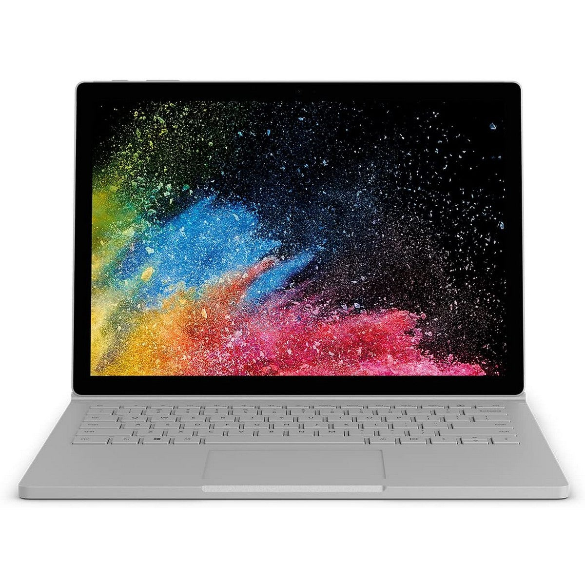 Microsoft Surface Book 2 in 1 Laptop 13.5'' PixelSense , Intel Core i5 i5-6300U 2.4GHz 3M Cache up to 3.0GHz, 8GB RAM, GeForce 940M 1GB GPU, 256GB SSD, Touchscreen, Windows 10, English Keyboard, platinum