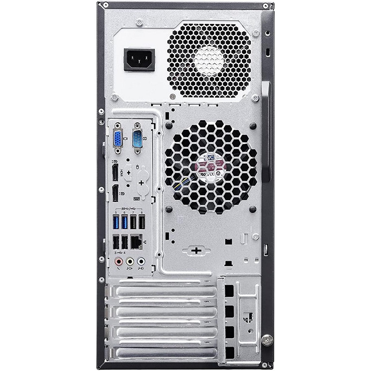 Used Lenovo ThinkCentre M83 Tower Desktop, Intel Core i5 i5-4570, 4GB RAM, 500GB HDD