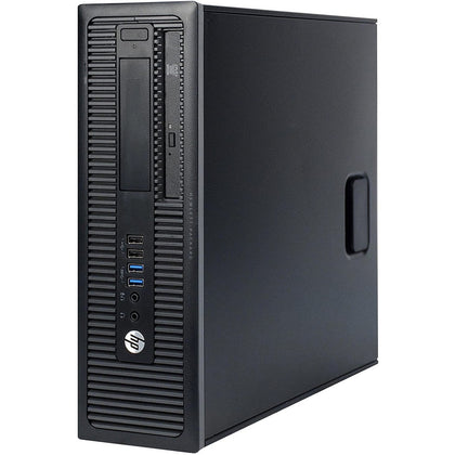 Used HP ProDesk 600G1 Desktop, Intel Core i3 i3-4130, 4GB RAM, 500GB HDD