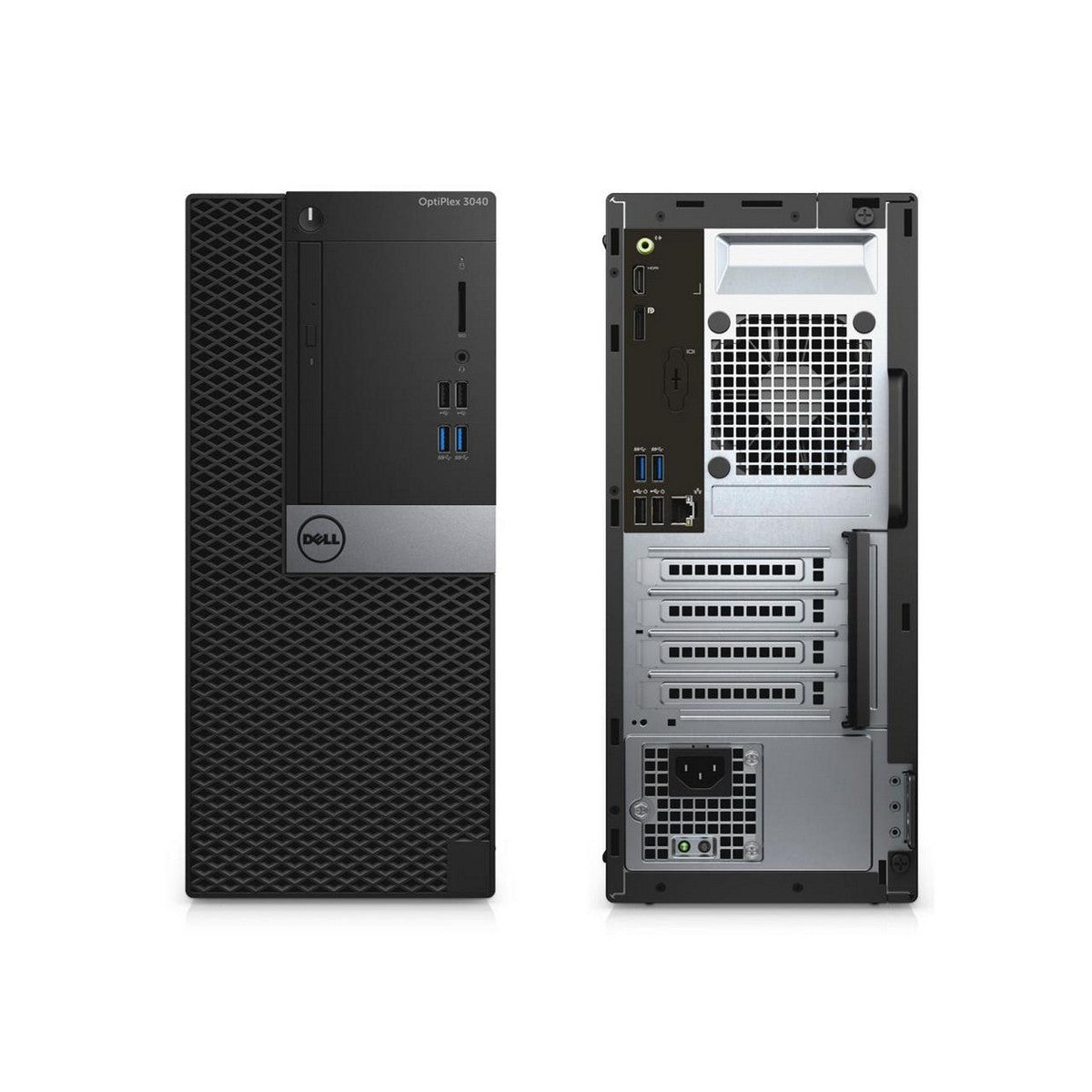 Used Dell OptiPlex 3040 Mini Tower Desktop, Intel Core i5 i5-6500, 4GB RAM, 500GB HDD