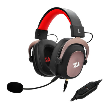Redragon H510 Zeus Wired Gaming Headset, 7.1 Surround, Detachable Microphone