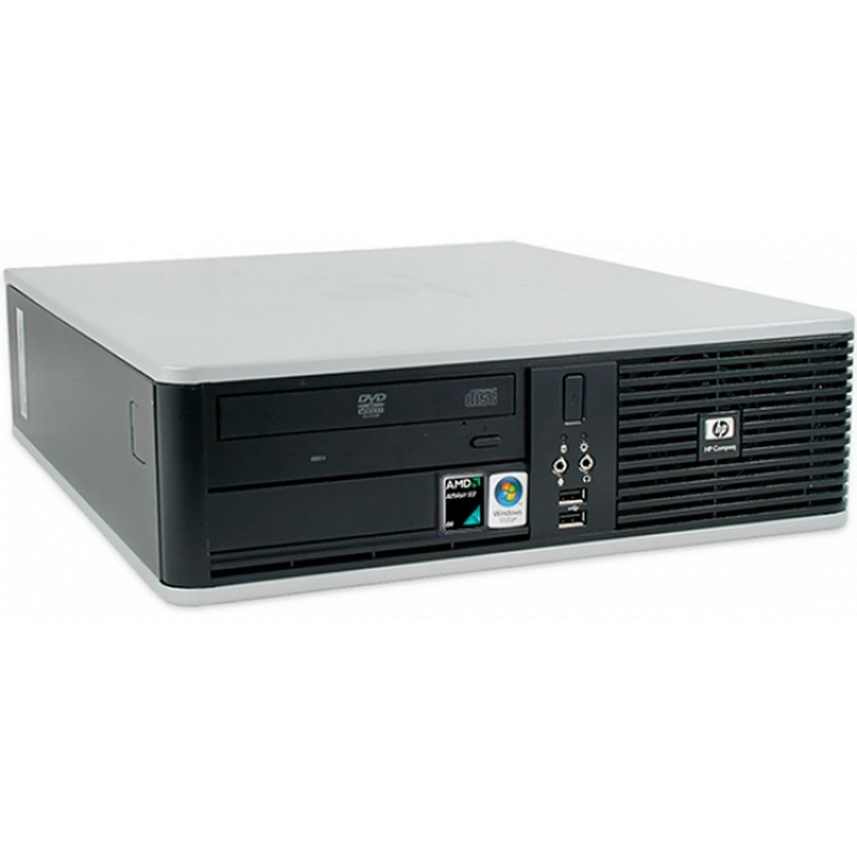 Used HP Compaq 5850 Desktop, Amd FX-Series ATHLON II X2, 4GB RAM, 250GB HDD