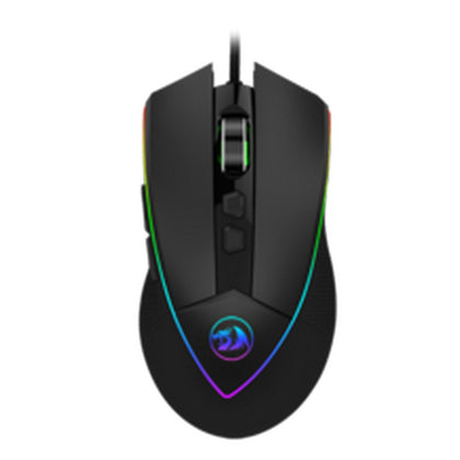 Redragon EMPEROR M909 USB Wired Gaming Mouse, High-Precision Programmable RGB Backlit Gaming Mouse