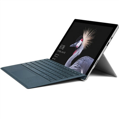 Microsoft Surface Pro 5th Gen 2 in 1 Laptop 12.3'' PixelSense , Intel Core i5 i5-7300U 1.6GHz 3M Cache up to 3.50GHz, 8GB RAM, Intel HD620 GPU, 128GB SSD, Touchscreen, Windows 10 Pro, Silver