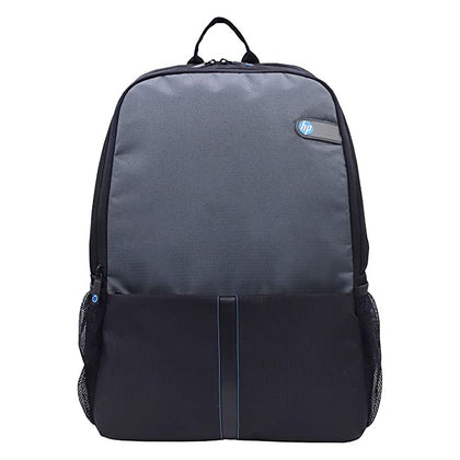 HP Essentials slim Polyester Black&Grey Laptop Backpack