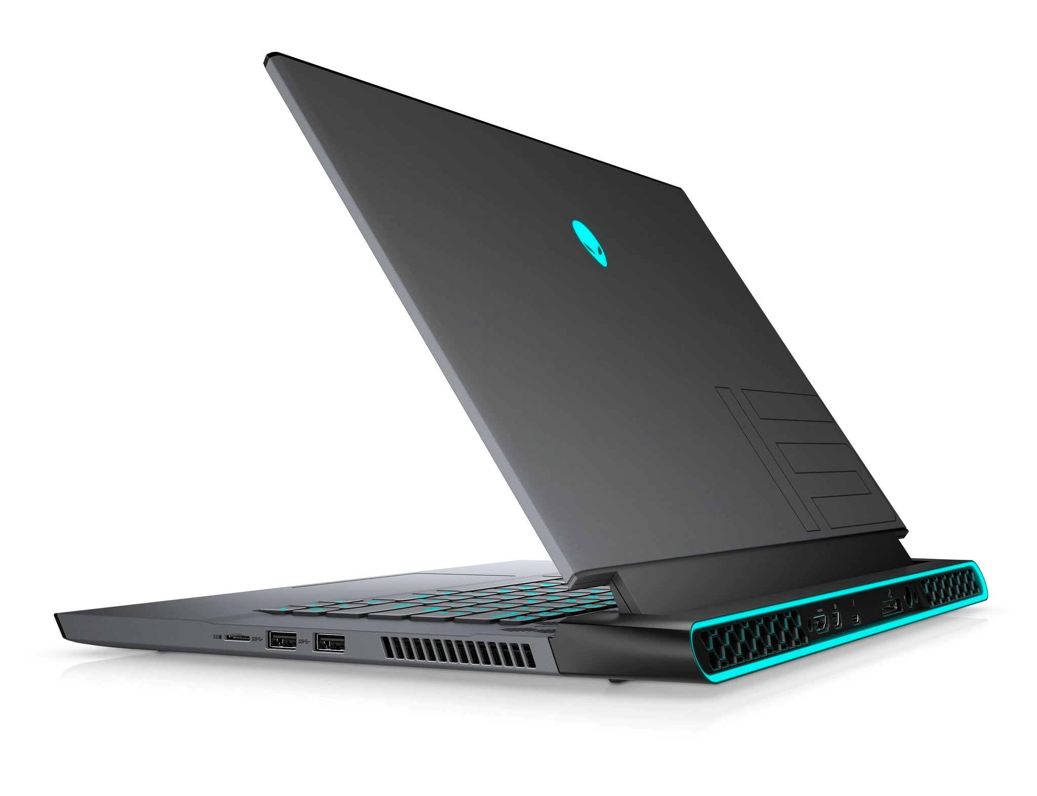 Alienware M15 R4 Gaming Laptop 15.6'' 144Hz 100% SRGB FHD, Intel Core i7-10870H 8-Core up to 5GHz, RTX 3060 6GB GPU, 16GB RAM, 512GB SSD,  RGB LED AlienFX Keyboard, Windows 10, English Keyboard, Dark Side of the Moon