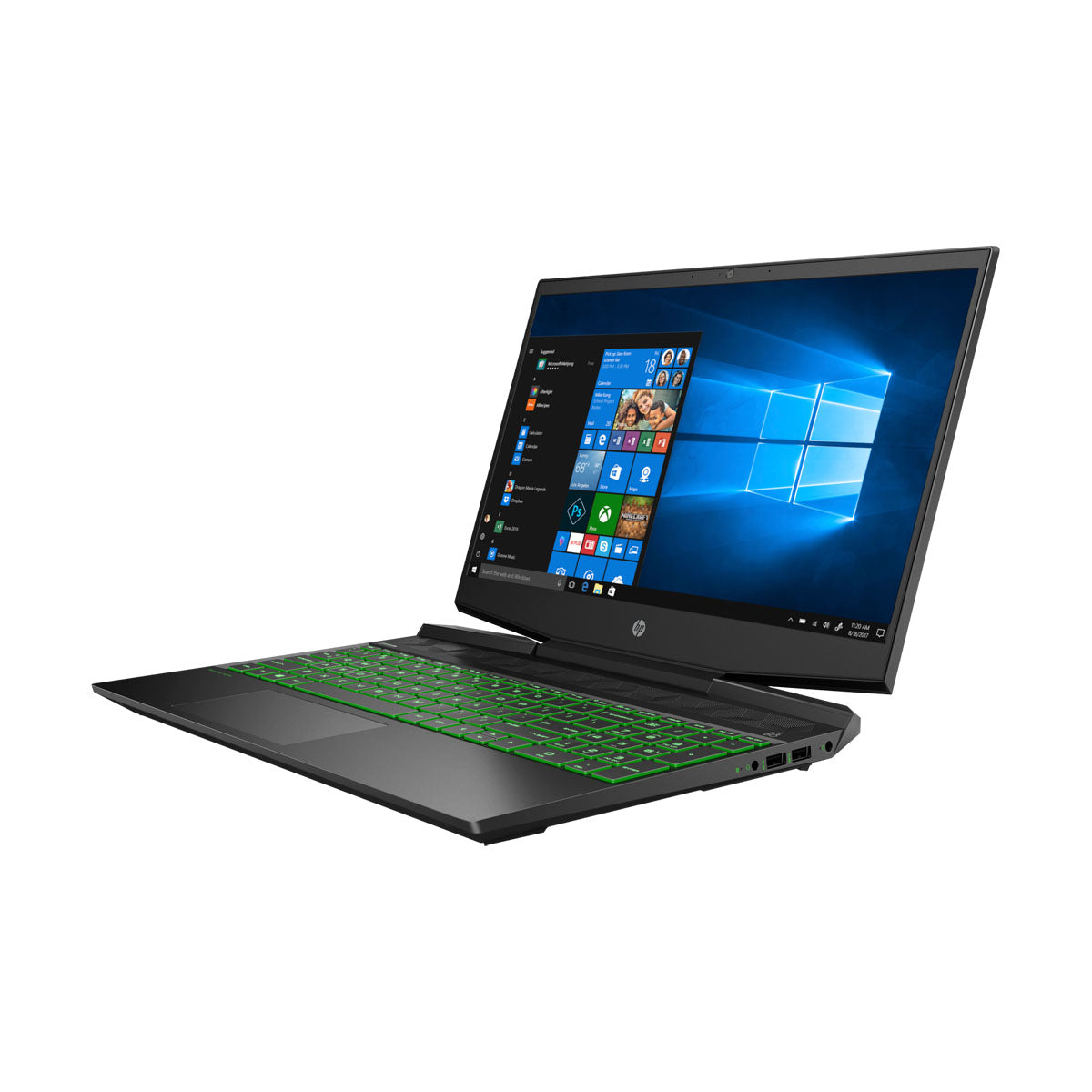 HP Pavilion 15-DK0096wm Gaming Laptop 15.6'' IPS FHD, Intel Core i5-9300H, GTX 1650 4GB GPU, 8GB RAM, 256GB SSD, Windows 10, English Backlit Keyboard