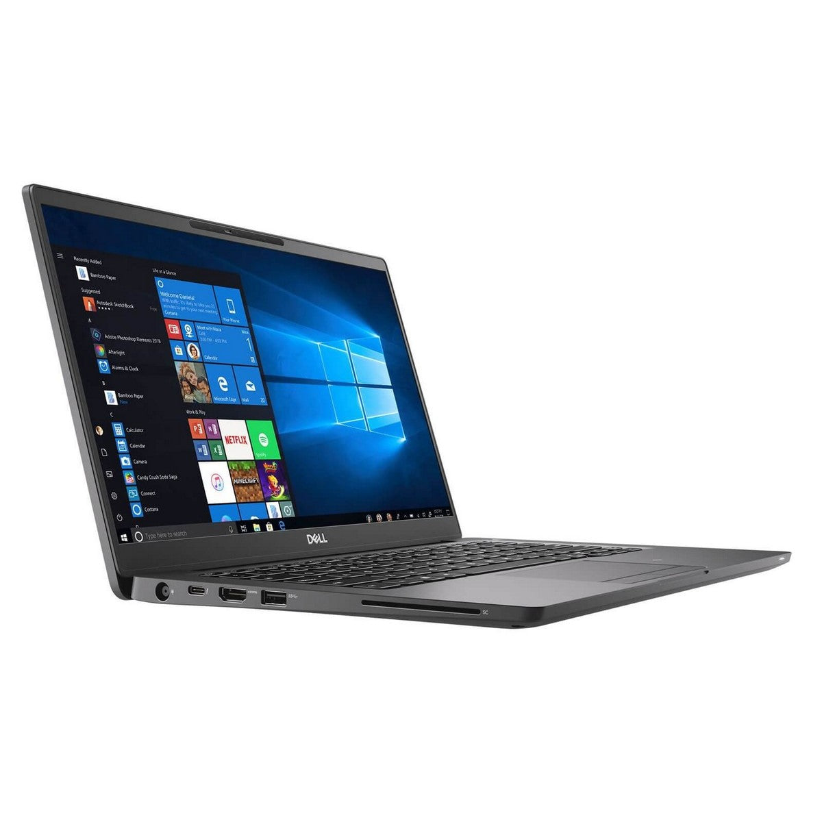 Dell Latitude 7400 Laptop 14'' FHD , Intel Core i7 i7-8665U 1.90GHz 8M Cache up to 4.80GHz, 8GB RAM, Intel UHD620 GPU, 512GB SSD, Windows 10 Pro, Black