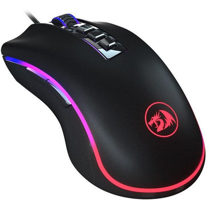 Redragon M711 COBRA Gaming Mouse with 16.8 Million RGB Color Backlit, 10,000 DPI Adjustable, Comfortable Grip, 8 Programmable Buttons