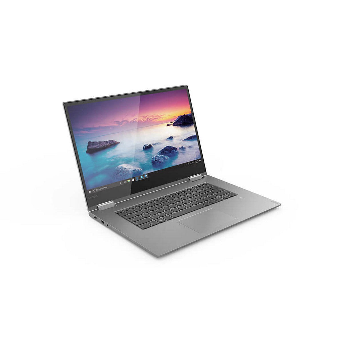 Lenovo Yoga 730-15IKB 2 in 1 Laptop 15.6'' FHD IPS , Intel Core i7 i7-8550U 1.80GHz 8M Cache up to 4.0GHz, 16GB RAM, GTX 1050 4GB GPU, 512GB SSD, Touchscreen, Windows 10, English Keyboard, Platinum
