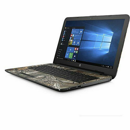 HP 15-bn070wm Laptop 15.6'' HD , Intel Pentium N3710 1.6GHz up to 2.56GHz, 4GB RAM, Intel HD405 Up To 2GB GPU, 1TB HDD, Windows 10, Camo