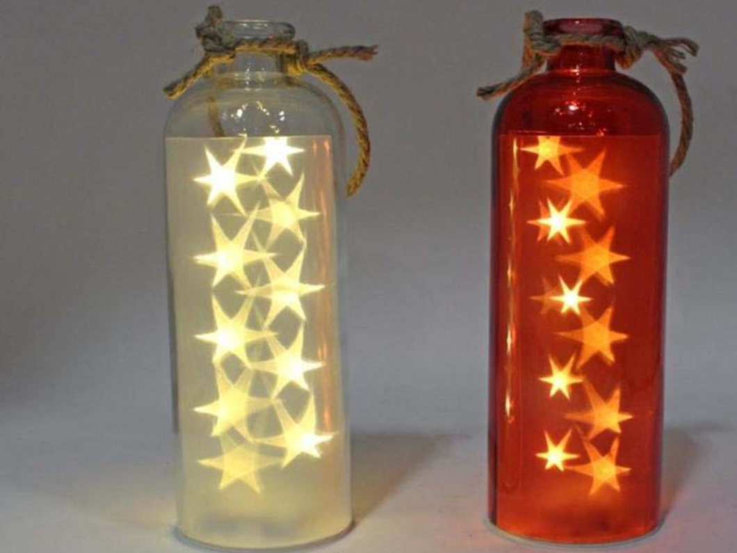 Glass Bottle 10 LED