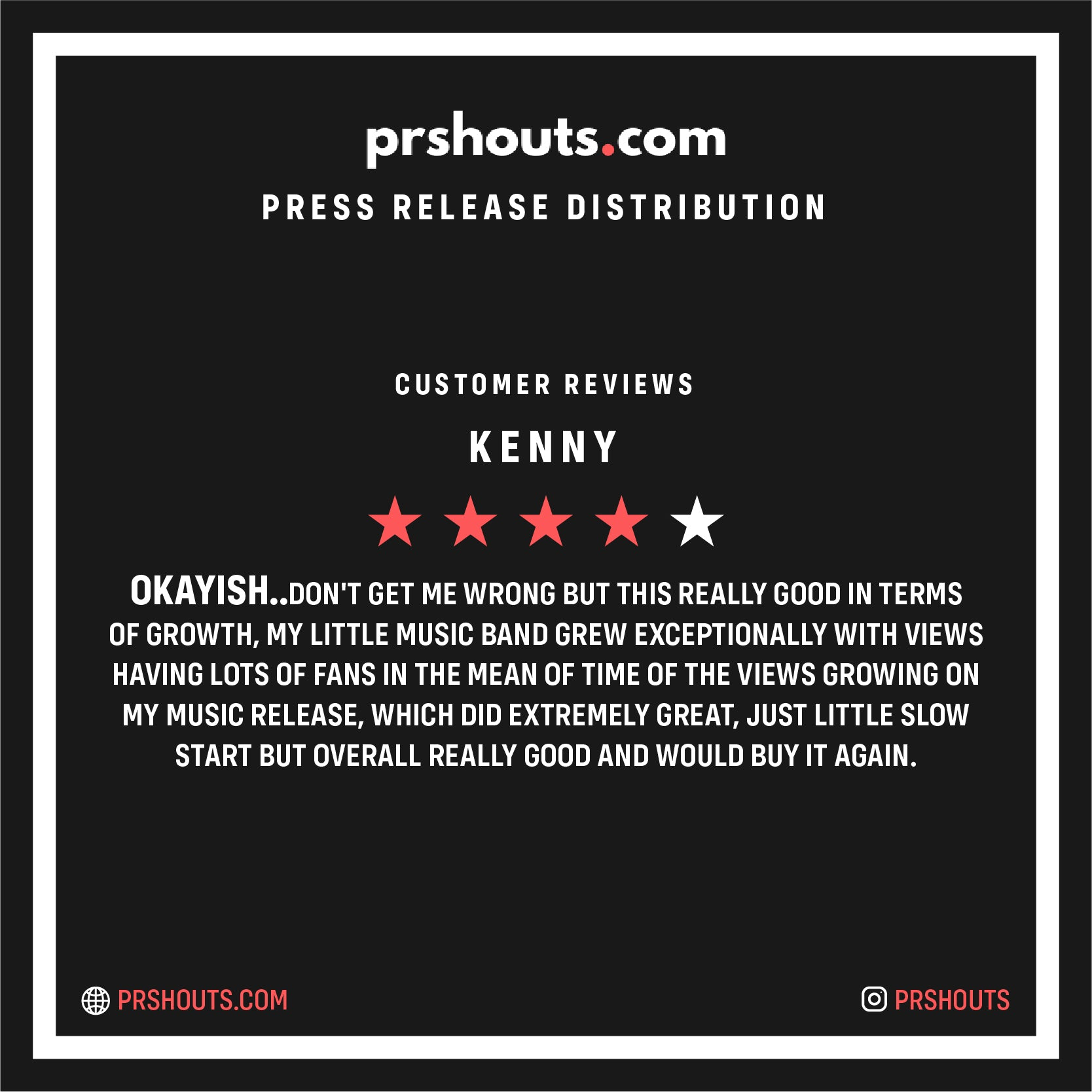 Buy a Premium Press Release from PRshouts | A Houston Press Release Company