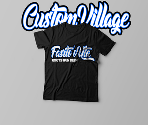 Custom Village Tee Black