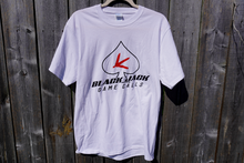 Load image into Gallery viewer, Black Jack Game Calls T-Shirt- White