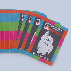 Memory Wipeout Card Game
