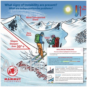 AvalancheGeeks avalanche safety cards
