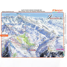 Load image into Gallery viewer, Alpe d'Huez Wipeout Map