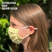 Load image into Gallery viewer, Cotton Mask Classic - Child