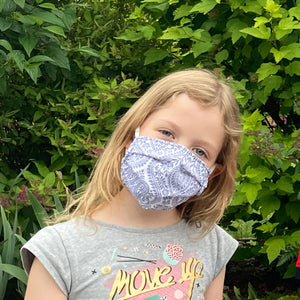 Reversible Cotton Mask - Teens & Petite Adults